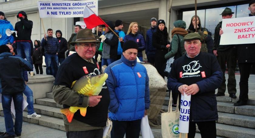 Protesty i manifestacje, Protest rybaków [zdjęcia] - zdjęcie, fotografia