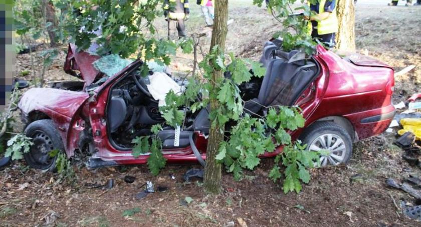 Bezpieczeństwo, Tragedia Nieporętem wypadku zginęła rodzina małym dzieckiem - zdjęcie, fotografia