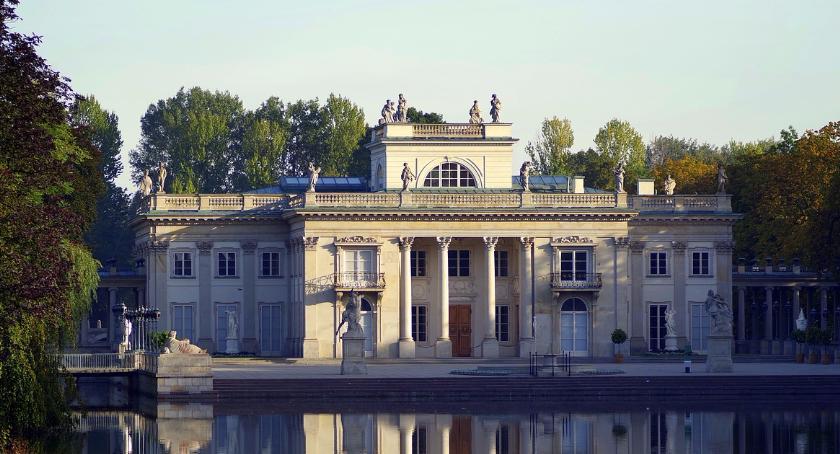 Historia Warszawy, Łazienki Królewskie zmroku [ZWIEDZANIE] - zdjęcie, fotografia