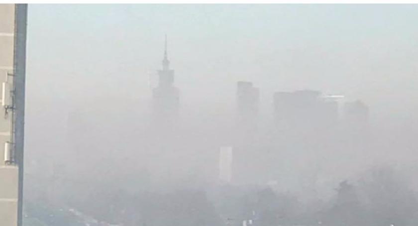 Prognoza pogody, Stężenie pyłów zawieszonych rośnie - zdjęcie, fotografia