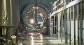 Z wizytą na budowie metra. Stacja Trocka - jest już peron. [ZDJECIA]