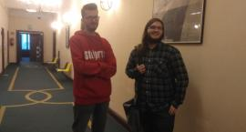 Wojtek i Dariusz opowiadają o studiowaniu w murach Pałacu i o tym jak lubią spędzać czas