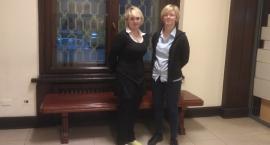 Panią Anię i Panią Justynę możemy spotkać na pałacowej poczcie